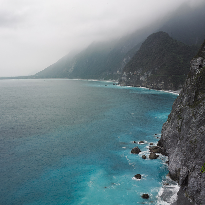 [Taitung – Yilan travel] Chingshuei cliff