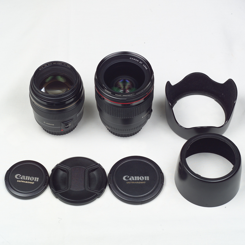 (Sold) Canon EF 35mm f1.4 and 85mm f1.9 combo