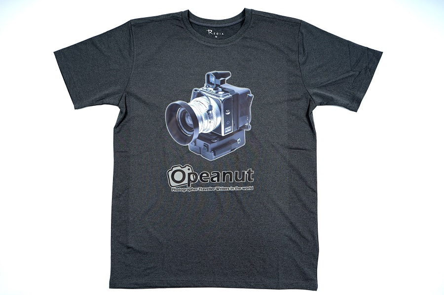 Opeanut community promotion souvenir – T-shirts ready to ship out