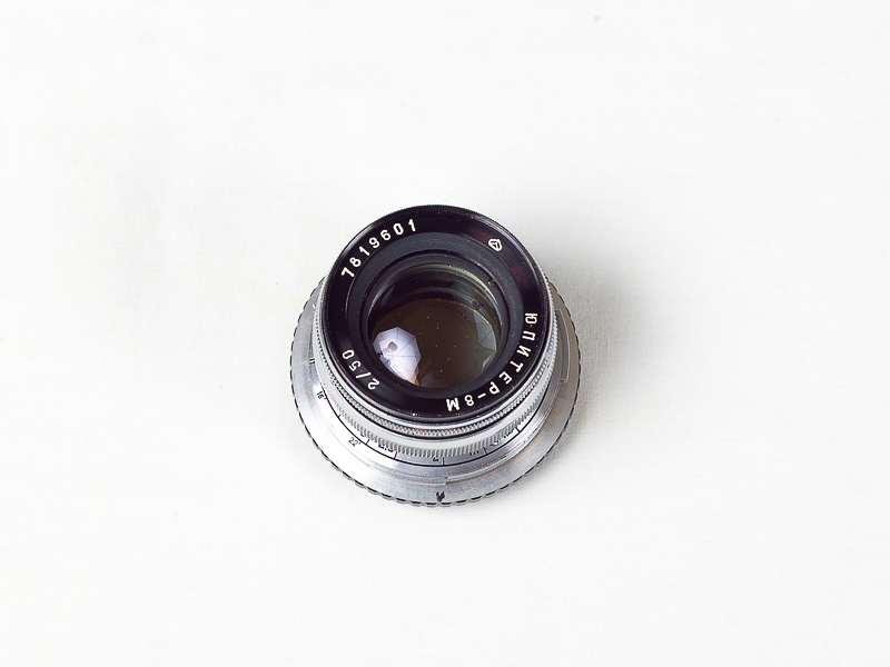 Contax / Kiev lens adapter with Jupiter 50mm f2.0 lens for Samsung NX, Sony A7, NEX, Fuji Fx and micro 4/3