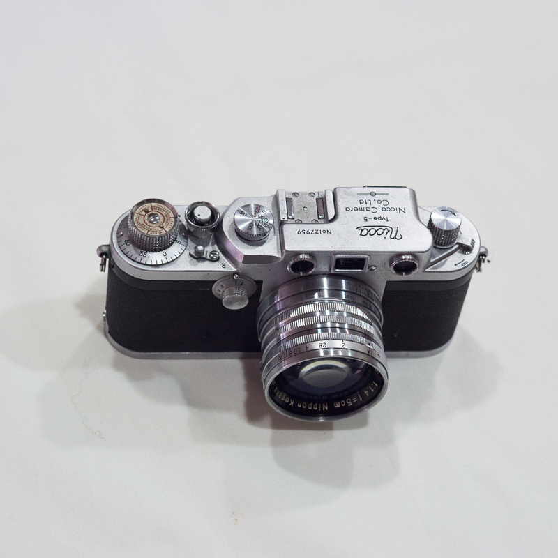 Unboxing Nicca Type-5 (Leica LTM camera in 1954) with Nikkor-S.C 5cm f1.4
