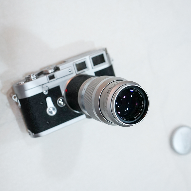 (Sold) Leica M mount, Hektor 135mm f4.5 lens