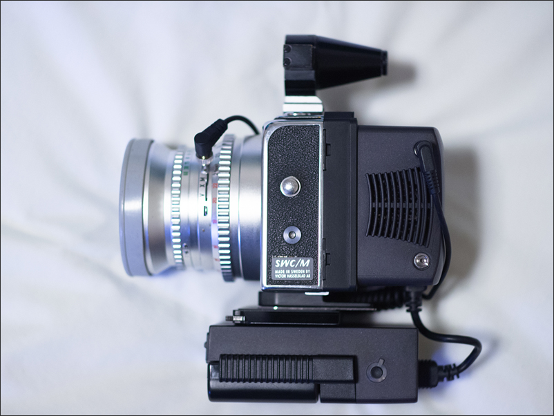 (Sold) Hasselblad SWC/M with chrome lens barrel (rare version)
