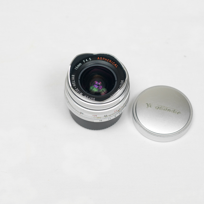 (Sold) Voigtlander Heliar 15mm f4.5 Silver version