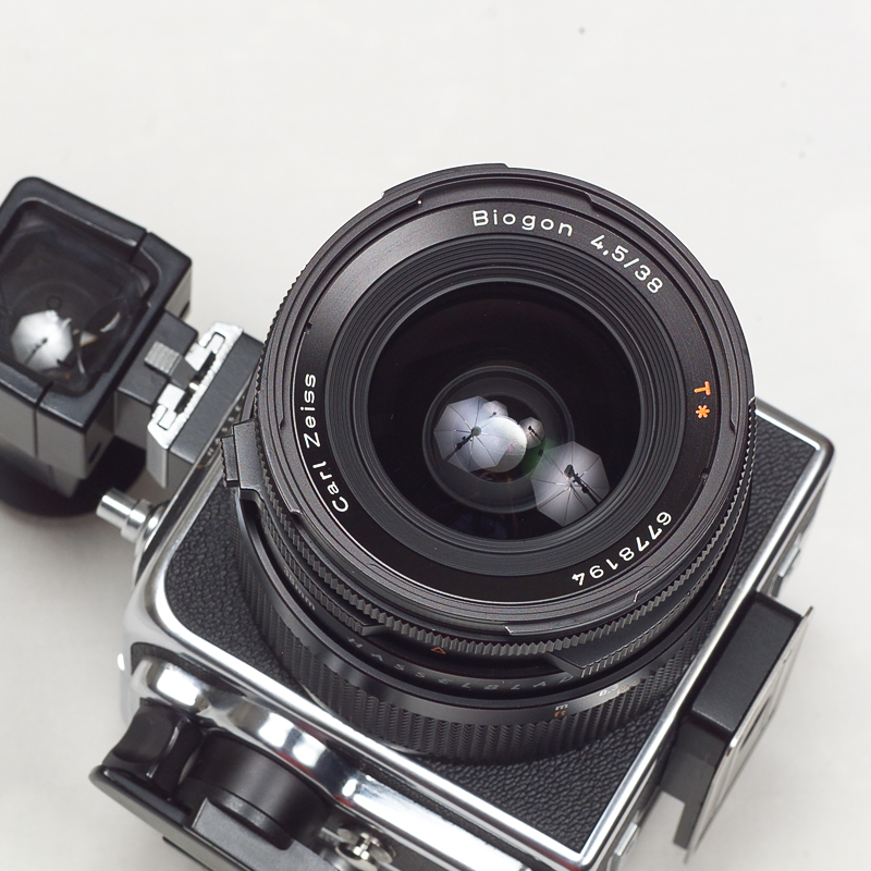 (Sold) Hasselblad SWC/M with 903 type finder, A12 back