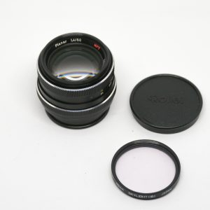 Carl Zeiss 50mm f1.4 Planar HFT, Rolleiflex QBM, Made in Germany, EX+  (290 USD)