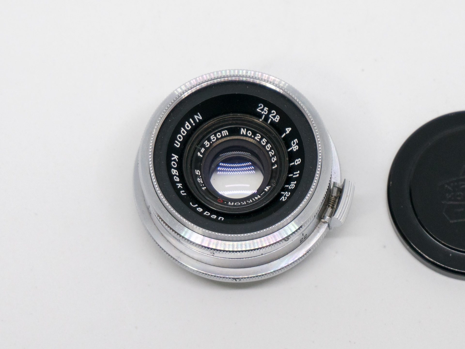 (SOLD) Nikon RF Nikkor 35mm f2.5 lens Nikon-S mount, for mirrorless digital   (245 USD)