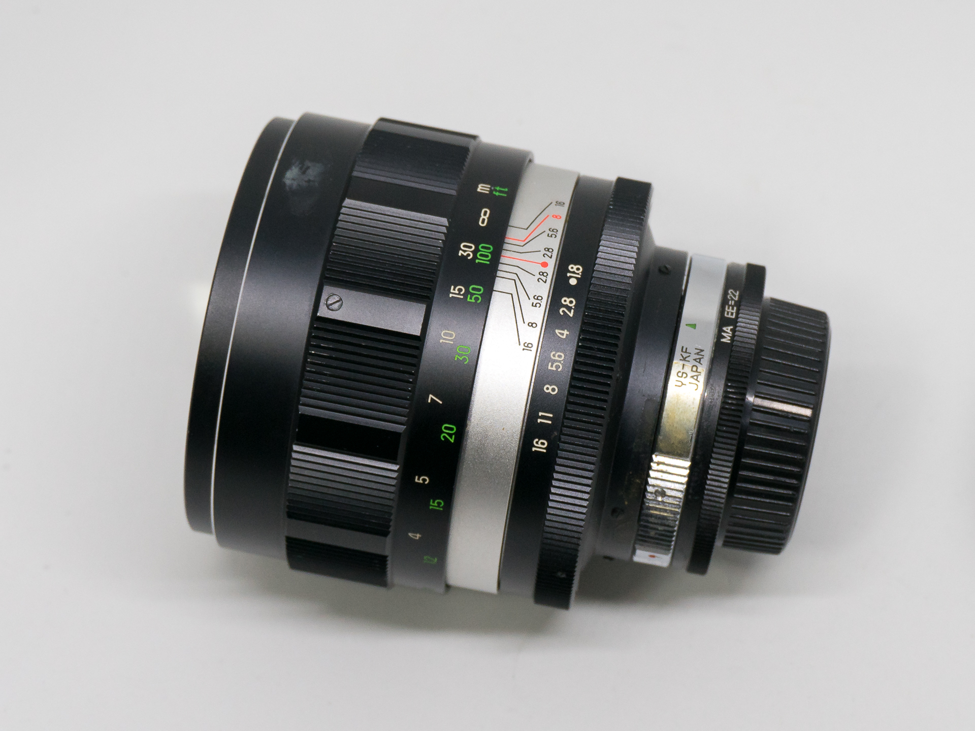(SOLD) 135mm f1.8 Spiratone Telephoto YS   (295 USD)